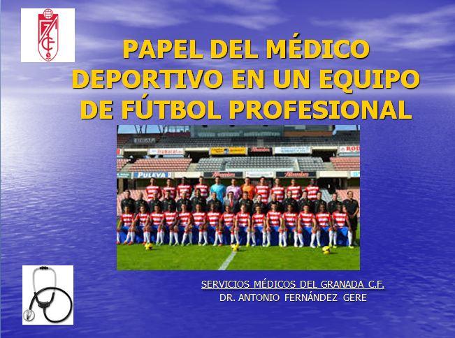 medico deportivo