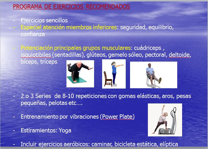ejercicios recomendados