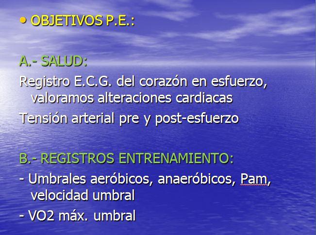 objetivos P.E.