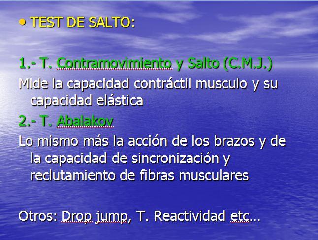 test de salto
