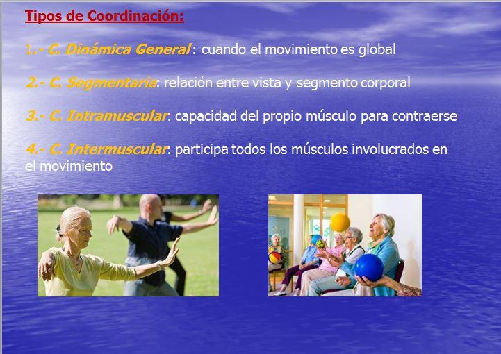tipos de coordinación