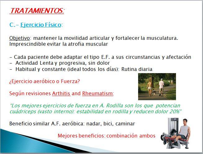 ejercicio para artrosis