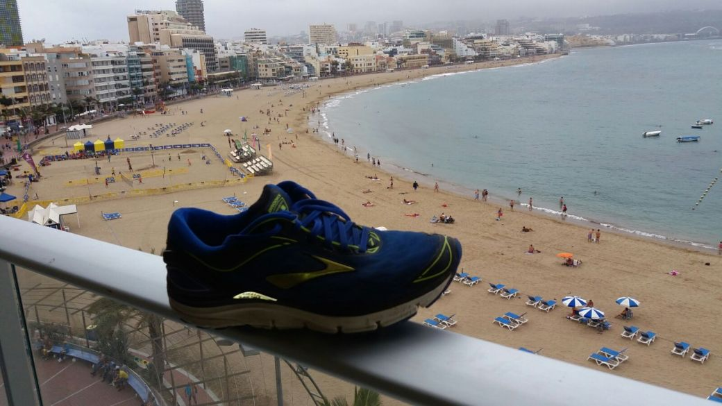 running con vistas espectaculares